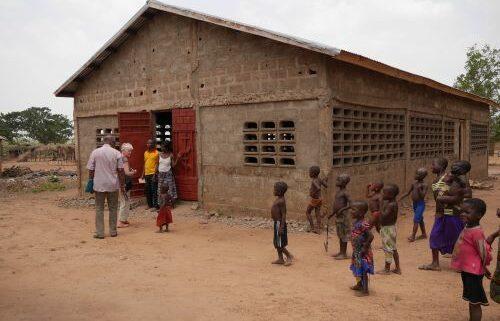 Kirchendach Togo