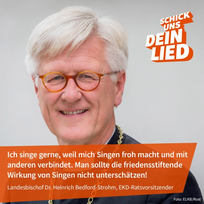 You are currently viewing Schick uns Dein Lied!