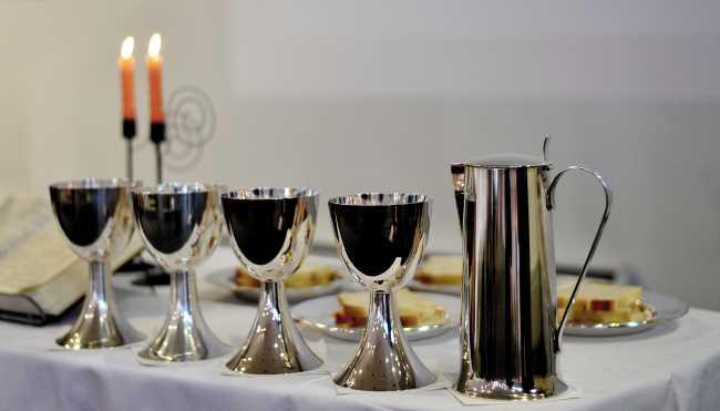 Read more about the article Wir feiern wieder das Abendmahl